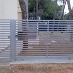 cancello disegno moderno
