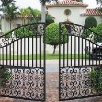 cancello ferro battuto 1