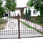 cancello ferro battuto 2