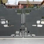 cancello lamiera serigrafata