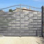 cancello zinc