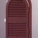 persiana ferro verniciato sagomata