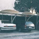 tettoia per posti auto